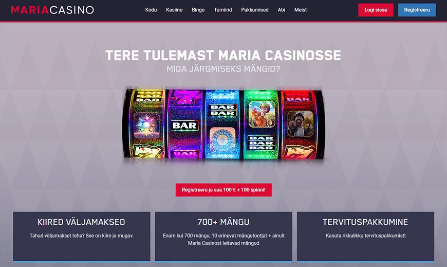 Maria Casino veebileht