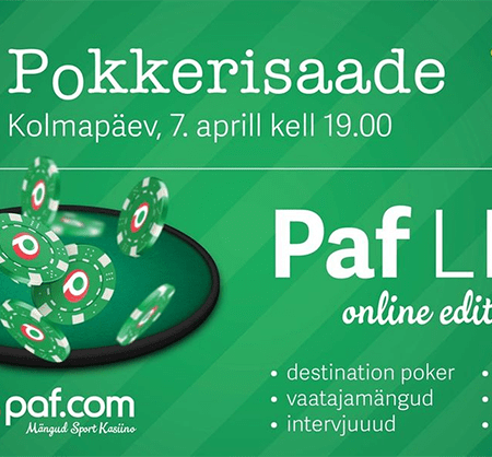 Paf Live Online Edition ja Win TV pokkerisaade #28