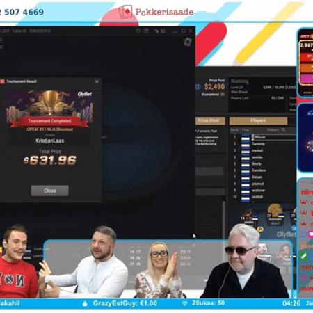 Win TV's toimub OPEM 2021 ajal 4-päevane pokkerisaadete maraton